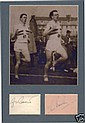 R Bannister & C Brasher Signed 4 Minute Mile