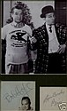 Bob Hope & Bing Crosby Signed Pages and Photo