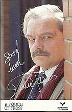 Sir David Jason signed 6 x 4 colour photo as