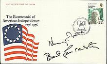 Burt Lancaster and Henry Fonda signed 1978 US