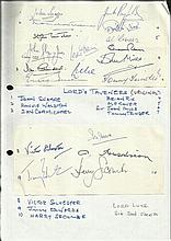 Lord Taverners Originators autographs, two