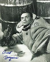 Ernest Borgnine signed 10 x 8 b/w photo from Ice