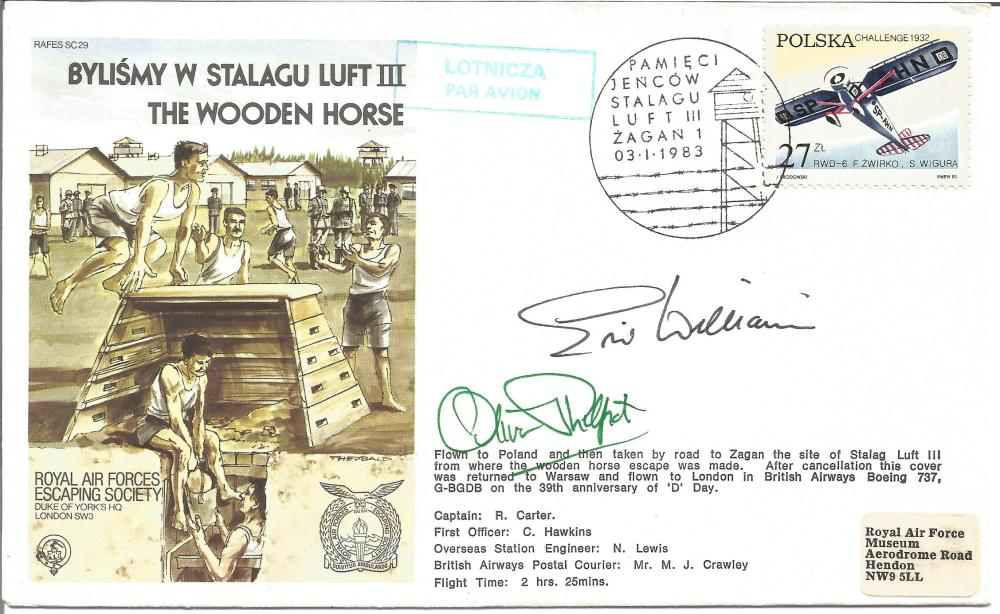 Wooden Horse Ww2 Escapers Eric Williams And Oliver Philpott