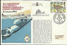 Navy signed cover 1978 RNSC (2)10 Royal Navy cover