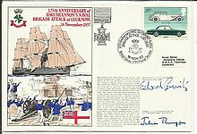 Navy signed cover 1982 RNSC (3)20 125th