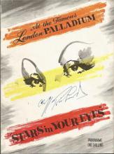 Cliff Richards signed London Palladium Stars in Your Eyes Programme