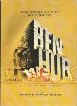 Ben Hur The Story of the making of the movie unsigned. Packed with great colour photos from the movie and superb description of the history.