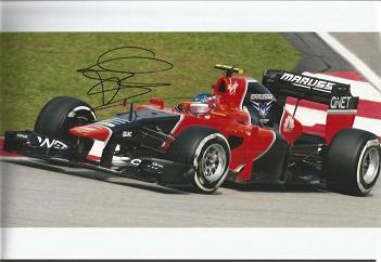 CHARLES JARROTT RACING DRIVER