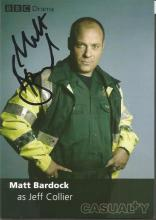 Casualty signed photo collection. 7 photos mainly 6x4 promotional colour photos. Includes Susan