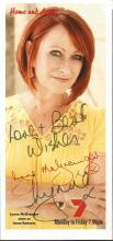 TV film signed collection. 9 items. Mainly 6x4 colour photos. Includes Lynne McGranger Home and