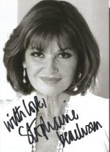 TV film signed collection. 24 items. Assortment of sizes of photos. Includes Stephanie Beacham,