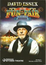 David Essex and cast multisigned programme for Fun of the Fair. Signed to inside biography pages