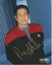Robert Beltran as Chakotay signed 10 x 8 colour Star Trek photo. Good Condition. All signed items