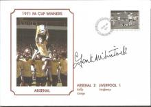 Signed Commemorative Cover, Arsenal 1971, A Superbly Produced Modern Cover Depicting The 1971 FA Cup