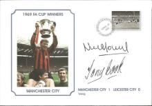Signed Commemorative Cover, Man City 1969, A Superbly Produced Modern Cover Depicting The 1969 FA
