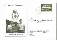 Signed Commemorative Cover, Tottenham 1962, A Superbly Produced Modern Cover Depicting The 1962 FA