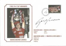 Signed Commemorative Cover, Man United 1983, A Superbly Produced Modern Cover Depicting The 1983