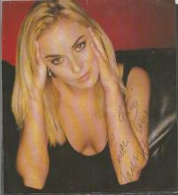 Tamzin Outhwaite signed 5x5 magazine colour photo. British actress from London. Since coming to