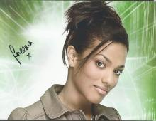 Freema Agyeman signed 10x8 colour photo from Dr Who. Good Condition. All signed items come with