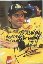 Damon Hill signed 6x4 colour photo. Dedicated. Good Condition. All signed items come with our