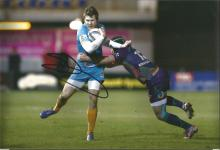 Elliott Daly Signed Rugby 8x12 Photo. Good Condition. All signed items come with our certificate