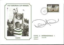 Signed Commemorative Cover, Celtic 1967, A Superbly Produced Modern Cover Depicting The 1967