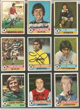 Lot Of Signed Topps 1977/78 Trading Cards, X 17 In Total Including Hunter, Mariner, Masson,