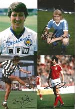 Lot Of Signed 6 X 4 Photos, Footballers 1950s 1980s, X 15 In Total Including Fine Examples Of