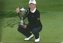 Matthew Fitzpatrick Signed Golf 8x12 Photo. Good Condition. All signed items come with our