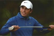 Francesco Molinari Signed Golf 8x12 Photo. Good Condition. All signed items come with our