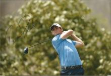Thomas Pieters Signed Golf 8x12 Photo. Good Condition. All signed items come with our certificate of