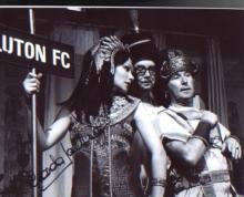 Morecambe and Wise Glenda Jackson signed 10 x 8 photo from the famous Cleopatra sketch. Good