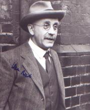 Till Death Do Us Part Warren Mitchell signed 10 x 8 photo in character as Alf Garnett. Good