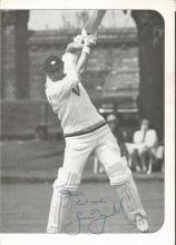Geoff Boycott signed cricket programme photo. Dedicated. Good Condition. All signed items come
