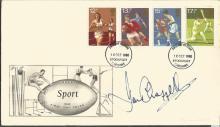 Ian Chappell, australian test cricket captain signed Sport FDC. 10/10/80 Stockport FDI. Good