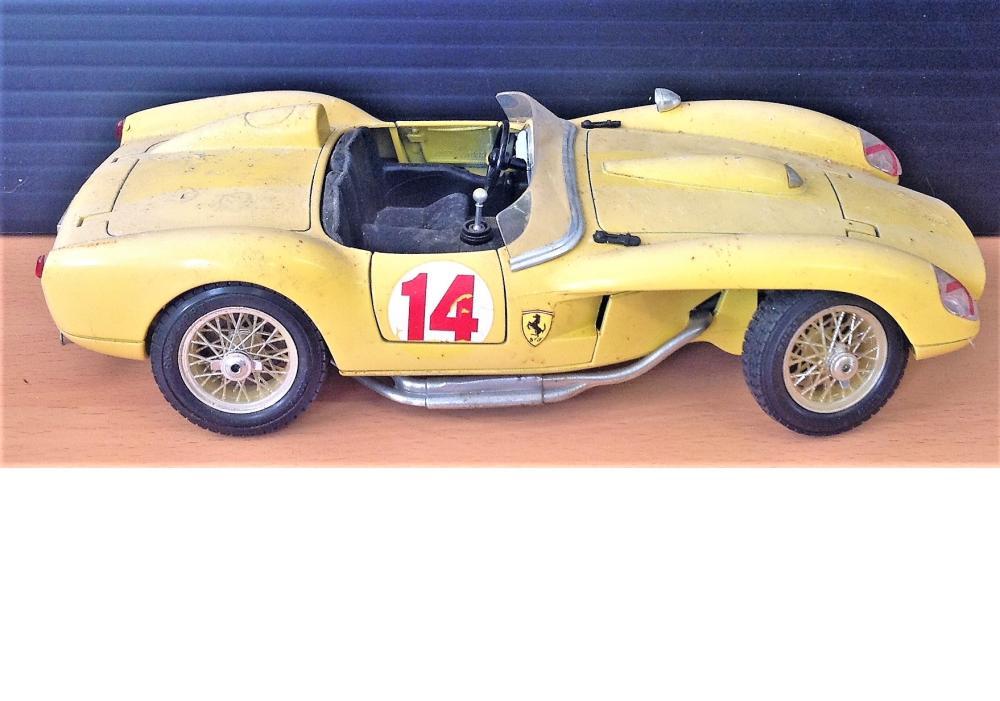 Classic Ferrari 250 Testa Rossa 1957 118 Scale Model Made B