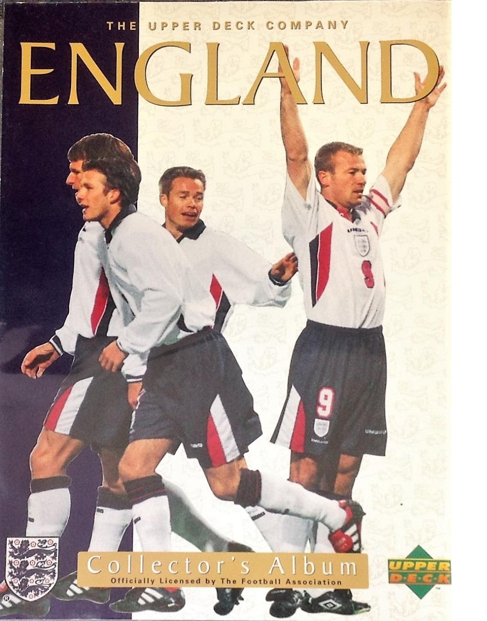 Football collection England F. A collectors album 81 fantastic cards of England legends and historic
