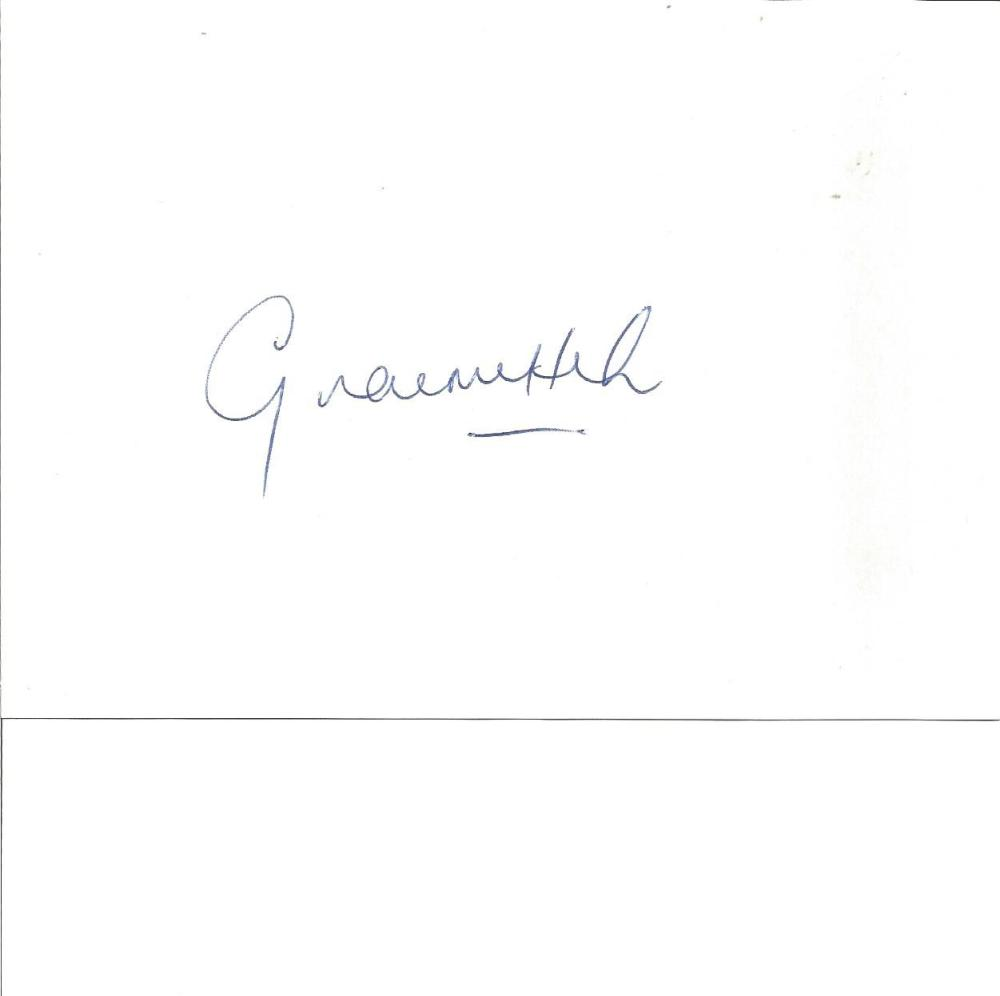 Cricket Graeme Hick 6x4 signed white card. Graeme Ashley Hick MBE (born 23 May 1966) is a former