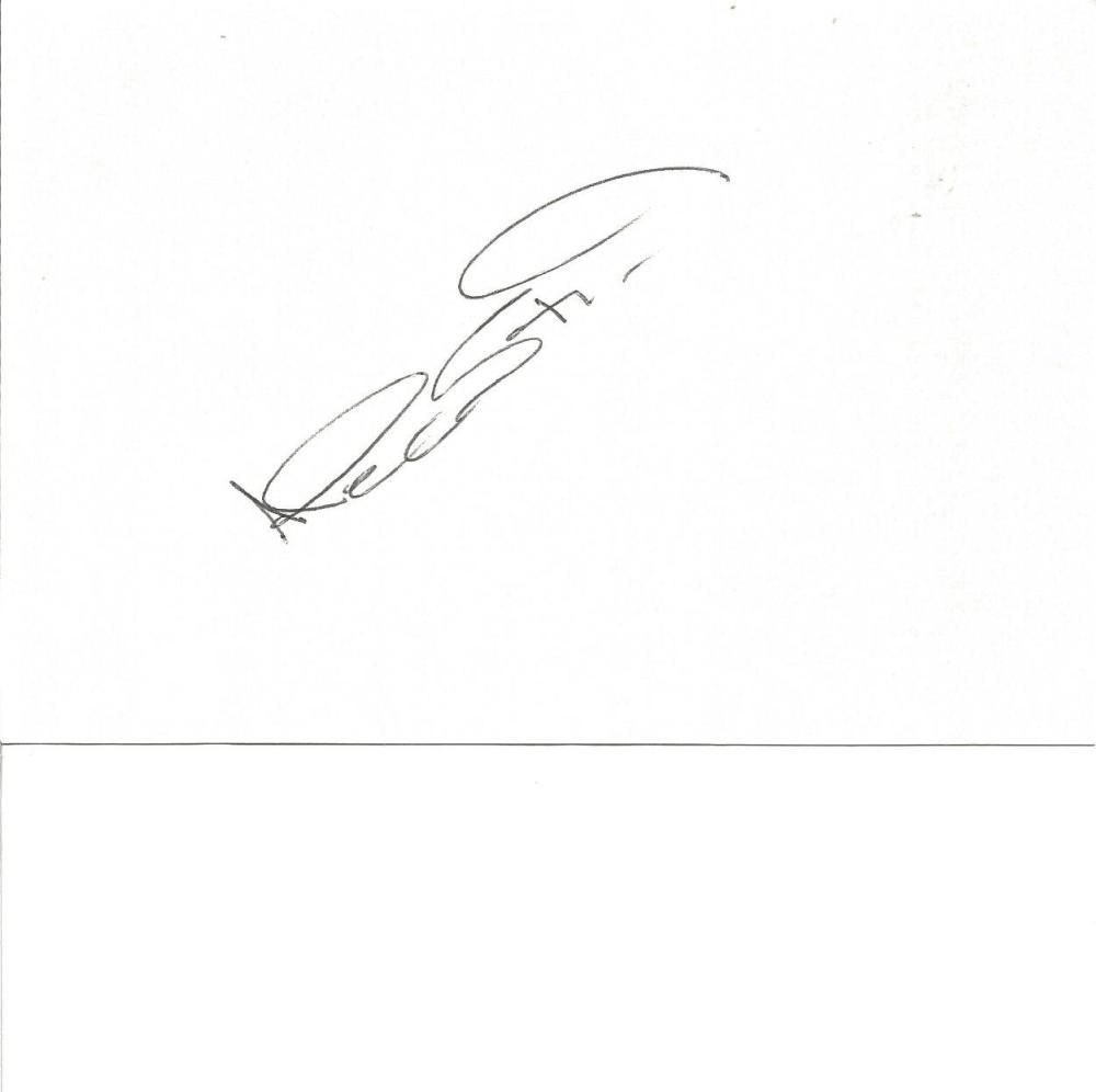 Cricket Alec Stewart 6x4 signed white card. Alec James Stewart OBE (born 8 April 1963) is a former