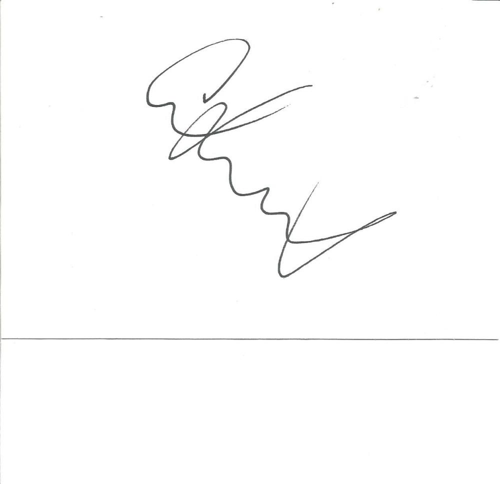 Cricket Mike Atherton 6x4 signed white card. Michael Andrew Atherton OBE (born 23 March 1968) is a