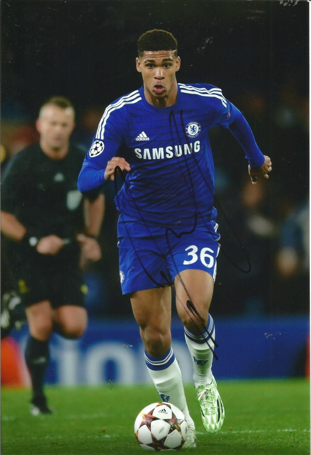 Ruben Loftus-Cheek Signed Chelsea 8x12 Photo. Good Condition Est.