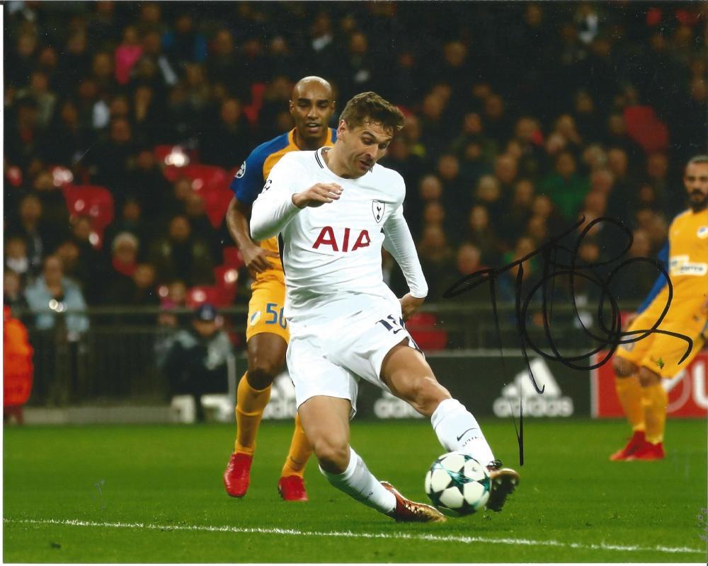 Fernando Llorente Signed Tottenham Hotspur 8x10 Photo. Good Condition Est.
