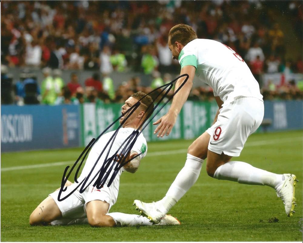 Kieran Trippier Signed Tottenham & England 8x10 Photo. Good Condition Est.