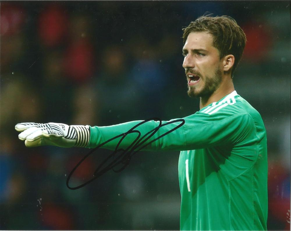 Kevin Trapp Signed Germany 8x10 Photo. Good Condition Est.
