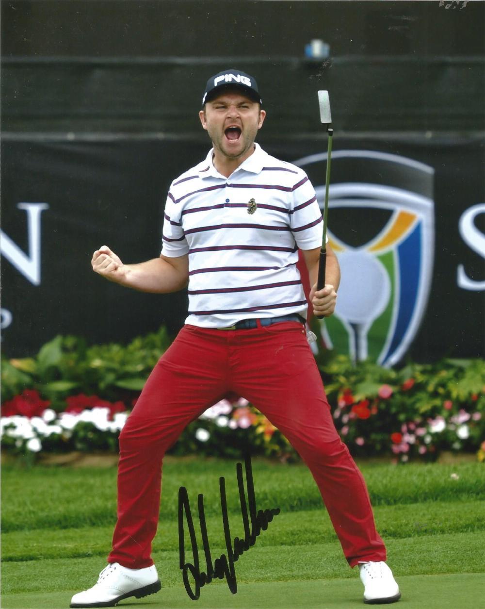 Andy Sullivan Signed Golf 8x10 Photo. Good Condition Est.