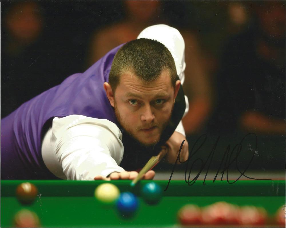 Mark Allen Signed Snooker 8x10 Photo. Good Condition Est.
