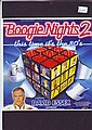David Essex signed promo leaflet for Boogie Nights 2 mounted to 12 x 8 black card -