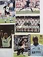 Football signed photos, five 10 x 8 colour photos