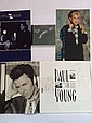 Music Collection three tour programmes signed by