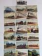 20+ Railway postcards, nice selection on vintage